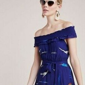 New Anthropologie Limited Edition Sailboat Dress